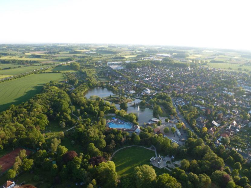 Vier-Jahreszeiten-Park, Ballonfahrt Oelde, Freibad Oelde