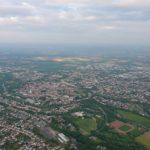 Lippstadt aus dem Ballon